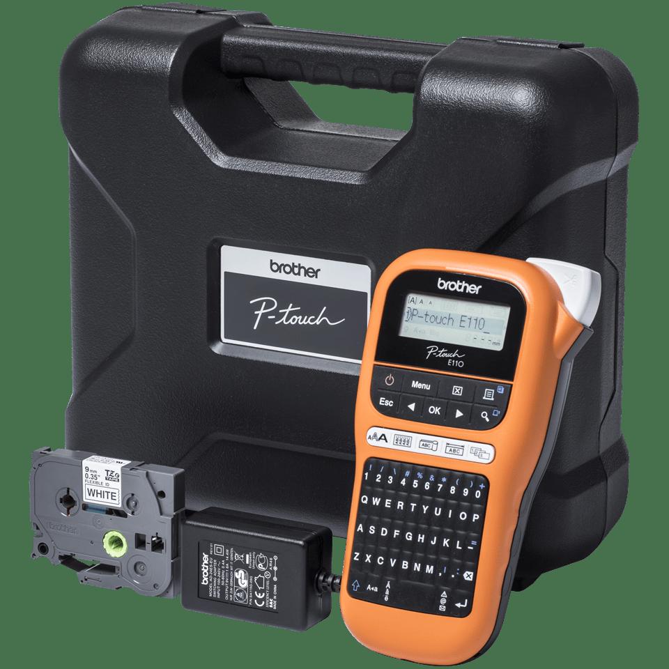 PT-E110VP Handheld Electrician Label Printer 9