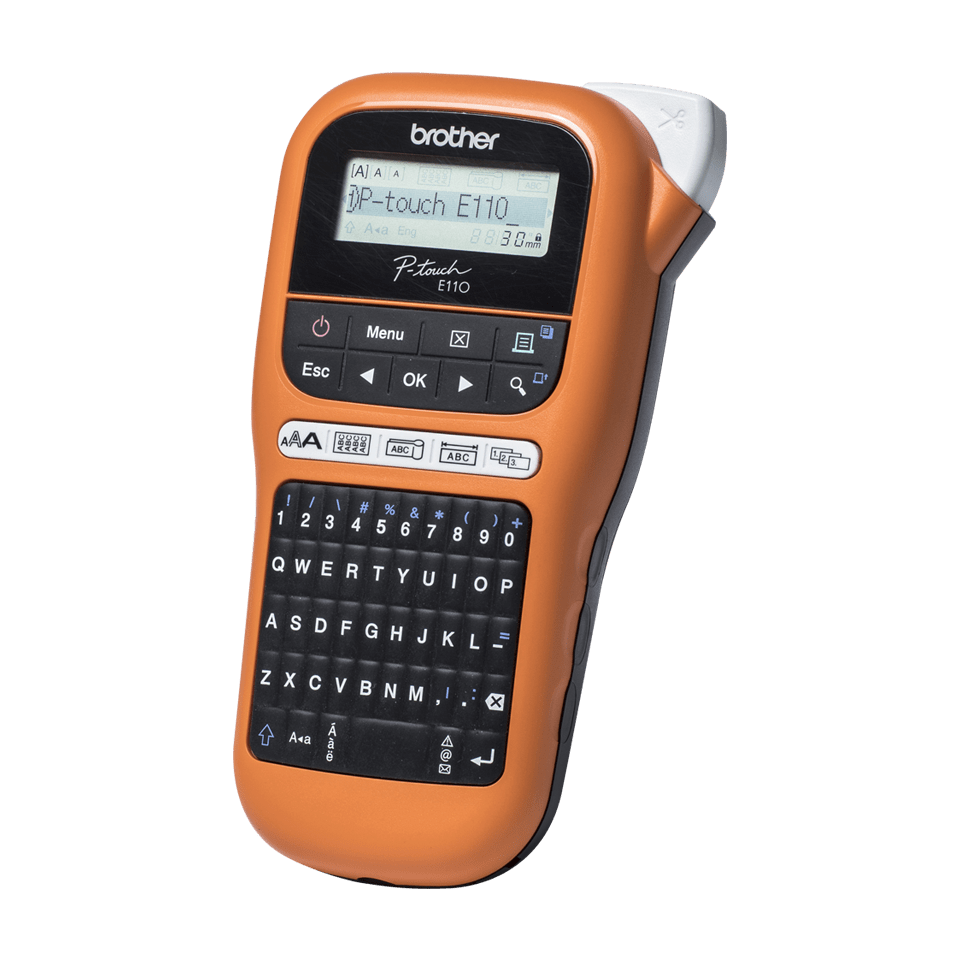 PT-E110VP Handheld Electrician Label Printer 1