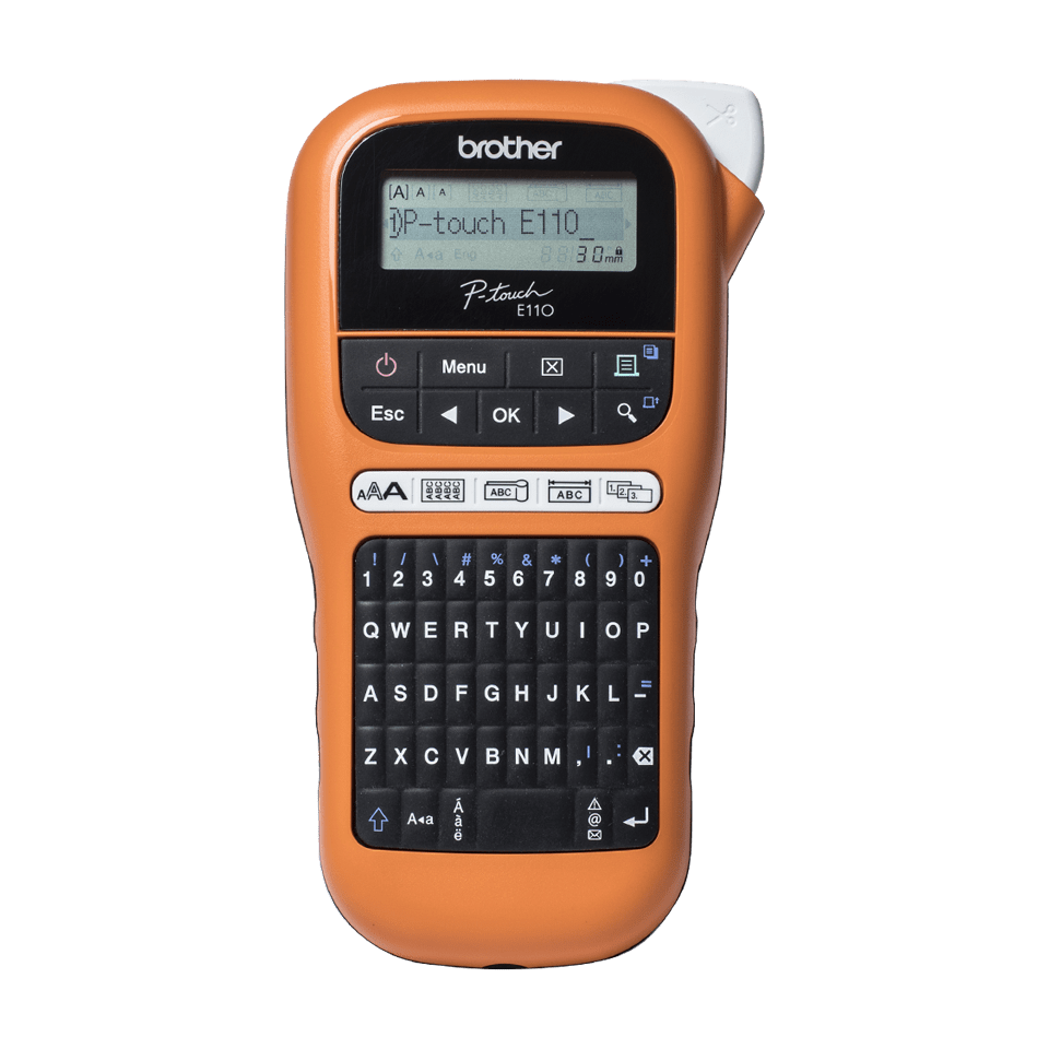 PT-E110VP Handheld Electrician Label Printer