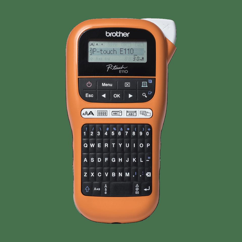 PT-E110VP Handheld Electrician Label Printer 0