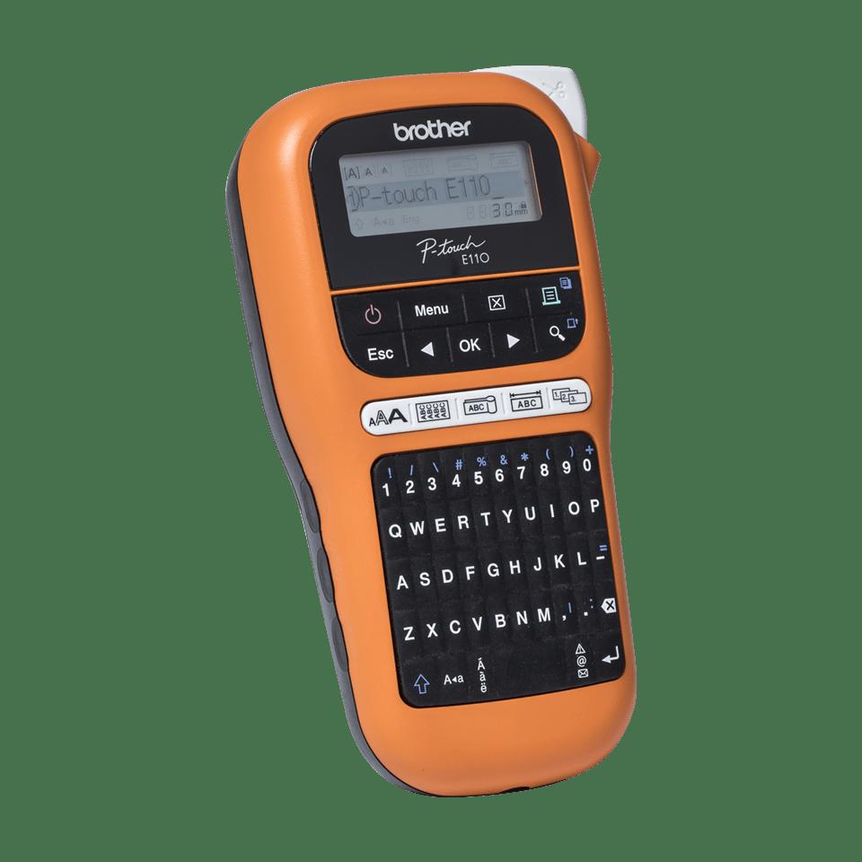 PT-E110VP Handheld Electrician Label Printer 2