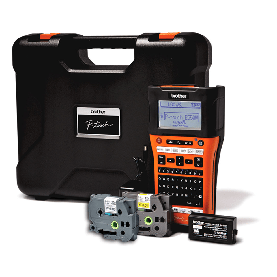 PT-E550WVP Electrician's Handheld Label Printer