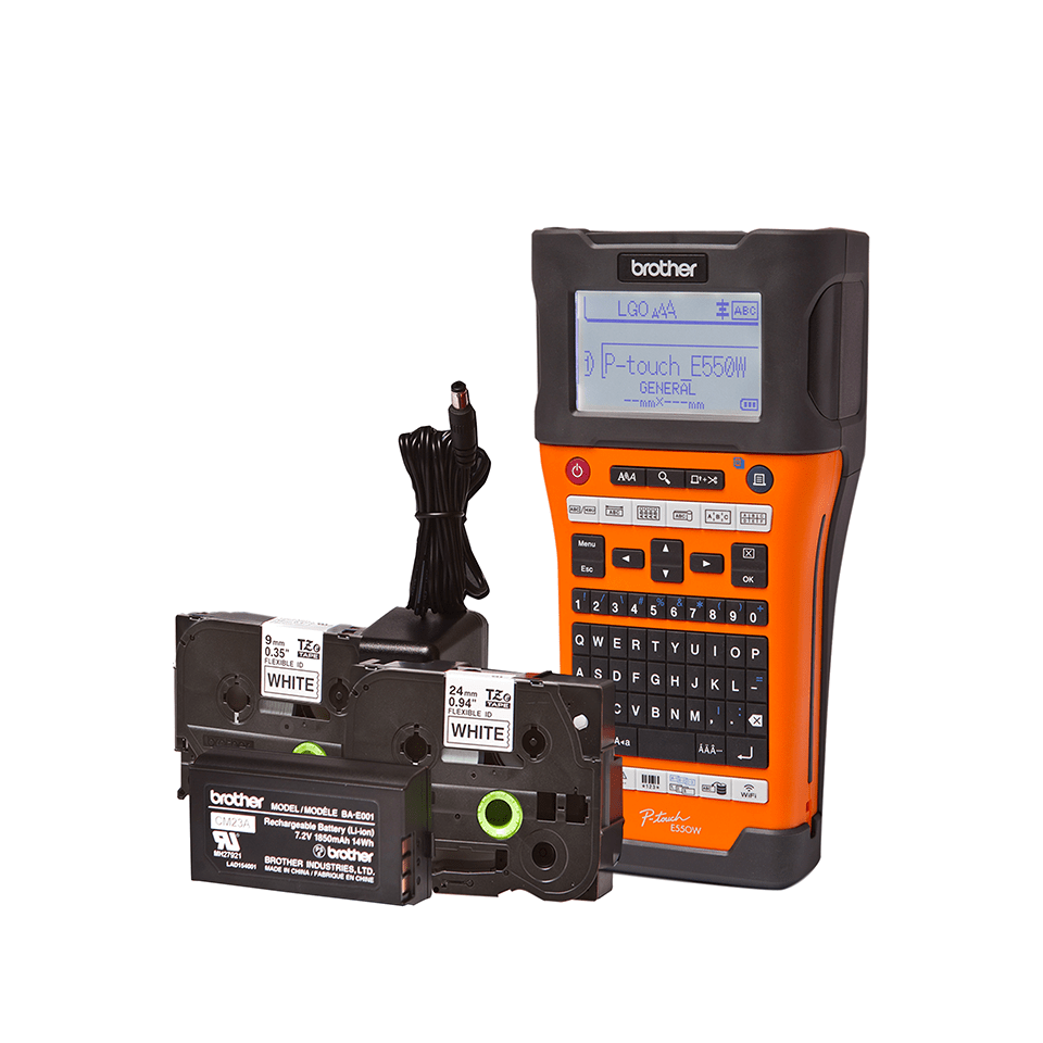 PT-E550WVPNI Network Infrastructure Label Printer 2