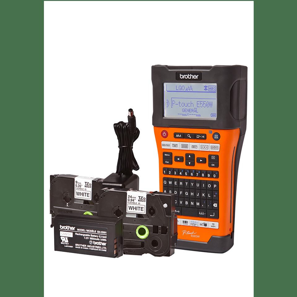 PT-E550WVPNI Network Infrastructure Label Printer