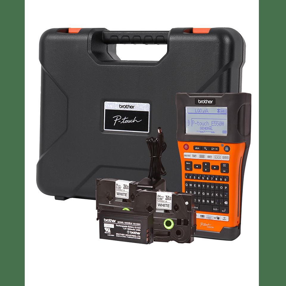 PT-E550WVPNI Network Infrastructure Label Printer 3
