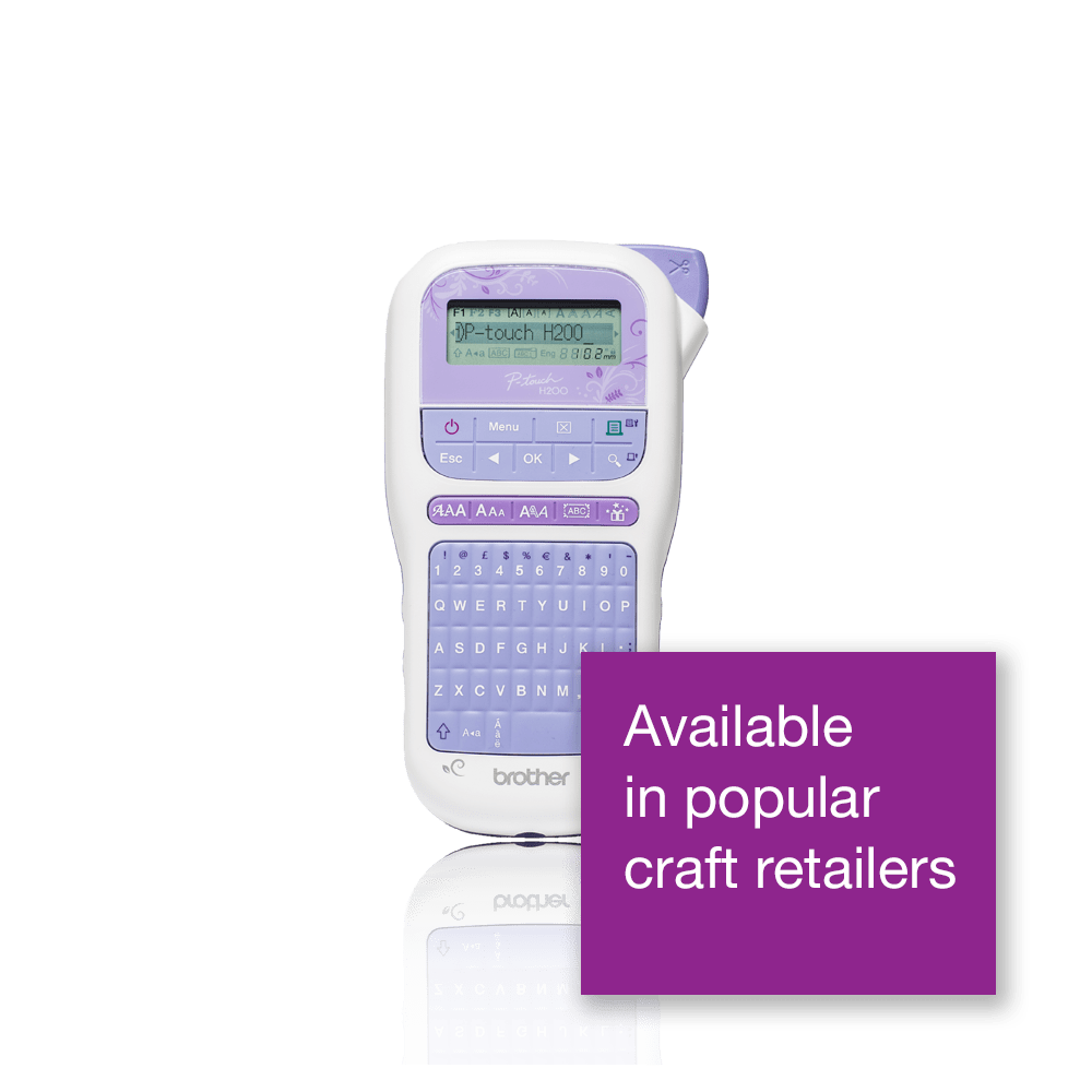 PT-H200 P-touch Craft Label Printer 3