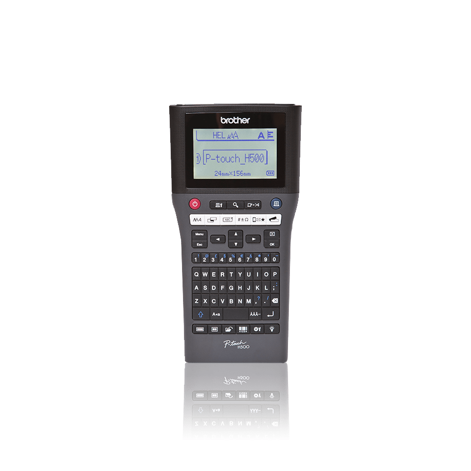 PT-H500 Professional Handheld Label Printer  4