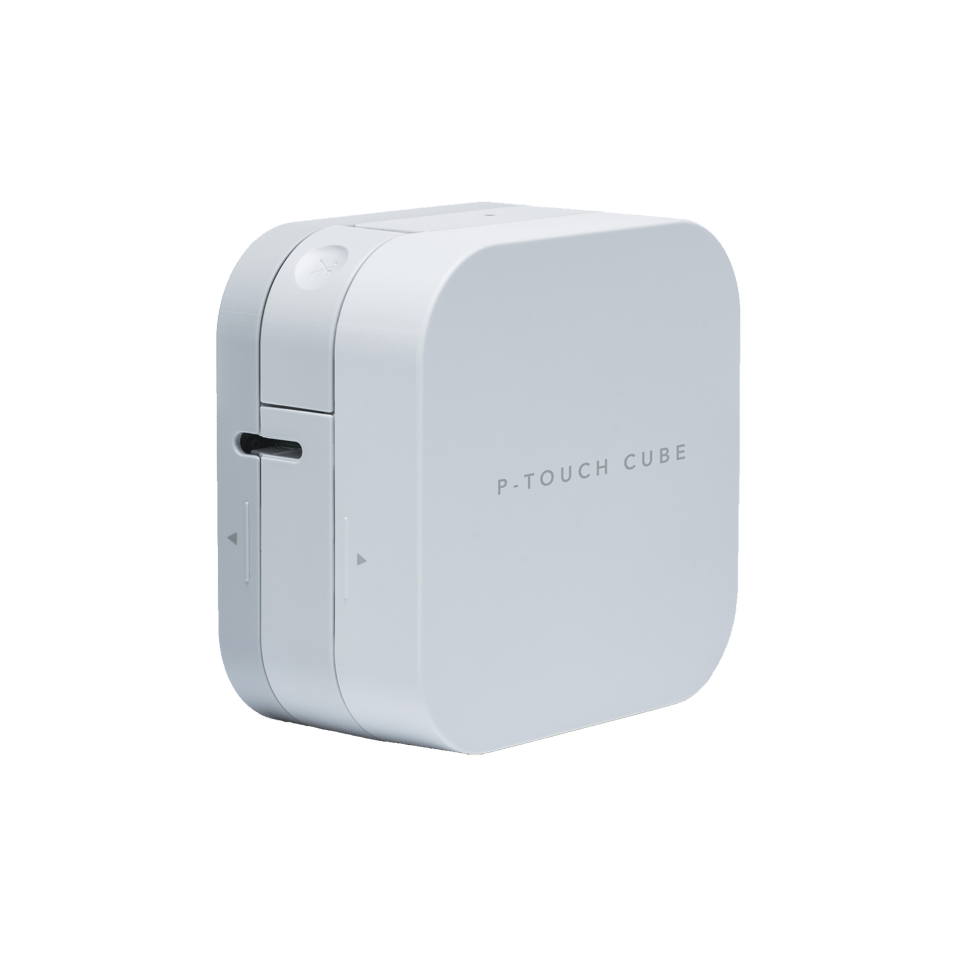 P-touch Cube Label Printer + Bluetooth 2