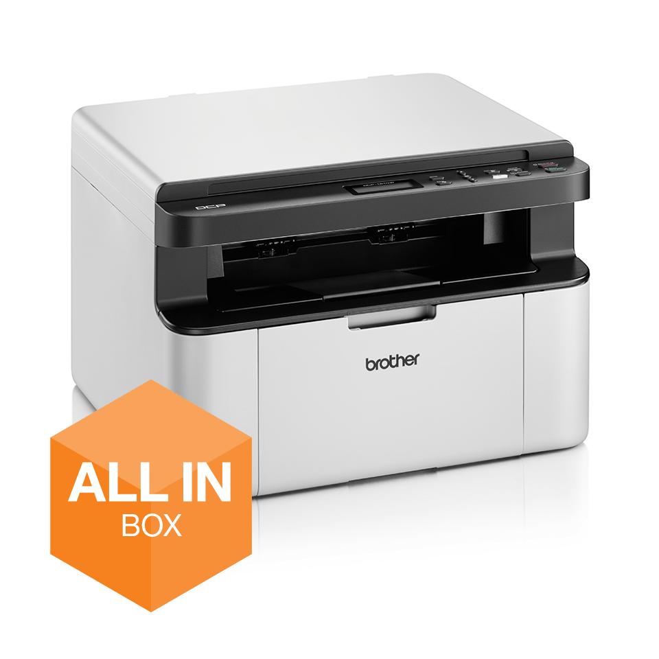 Wireless 3-in-1 Mono Laser Printer - DCP-1610W All in Box Bundle 2