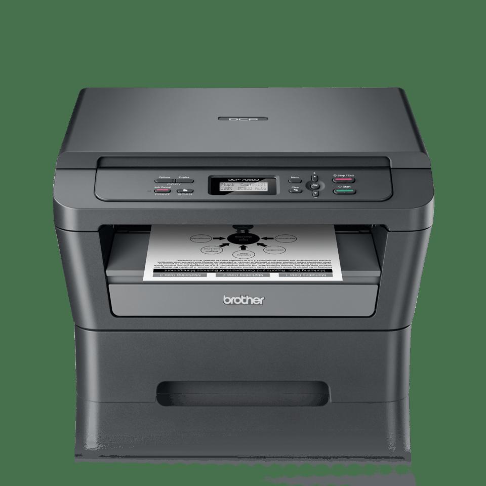 DCP-7060D Mono Laser All-in-One + Duplex