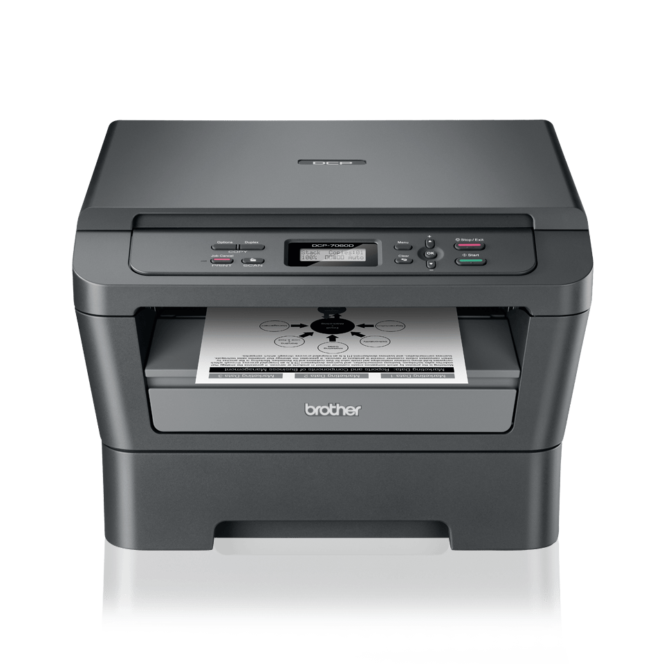DCP-7060D Mono Laser All-in-One + Duplex 2