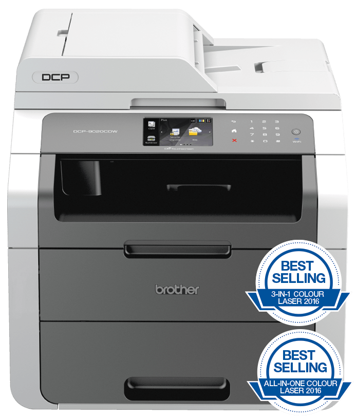 Brother DCP-9020CDW all-in-one wireless colour laser printer