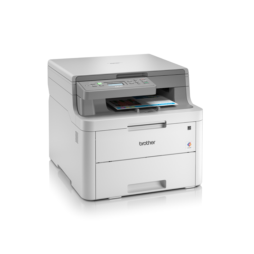 DCP-L3510CDW 3-in-1 Wireless colour LED laser printer  3