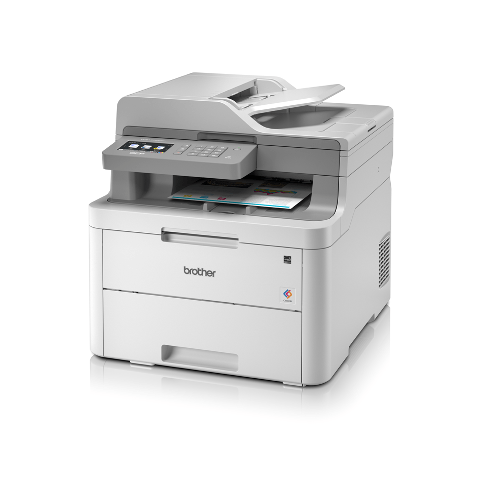 DCP-L3550CDW 3-in-1 wireless colour LED printer with touchscreen display 2