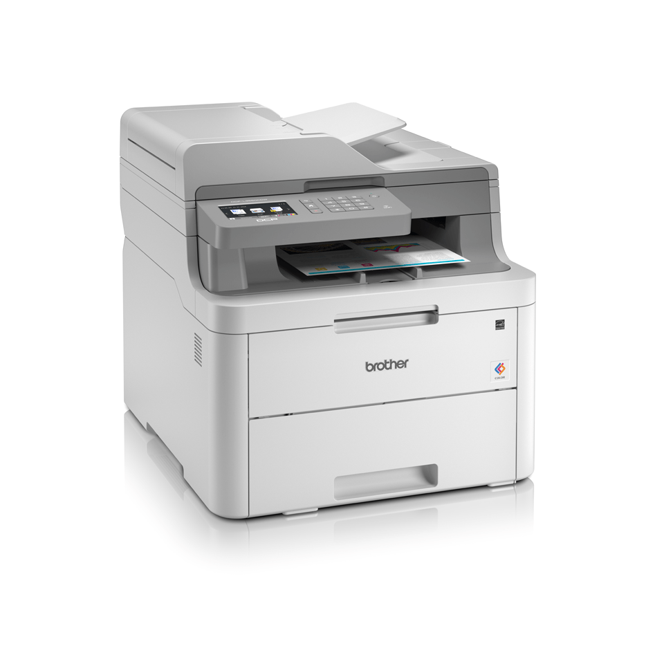 DCP-L3550CDW 3-in-1 wireless colour LED printer with touchscreen display 3
