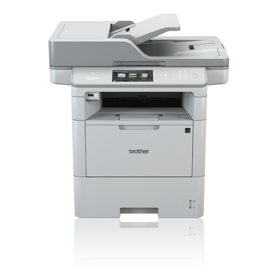 DCPL6600DW front view with BLI Line of the Year logo