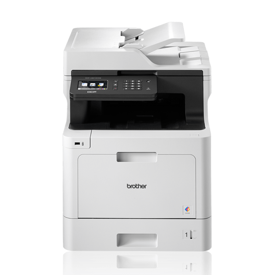 DCPL8410CDW multifunction print, copy and scan colour laser printer with BLI recommended and IF Design award