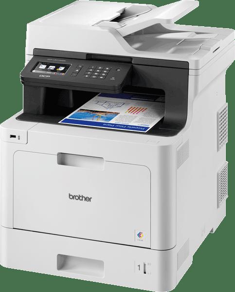 DCP-L8410CDW Wireless Colour Laser Printer 2