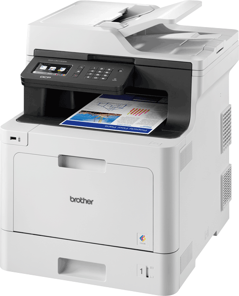 DCP-L8410CDW Wireless Colour Laser Printer 2