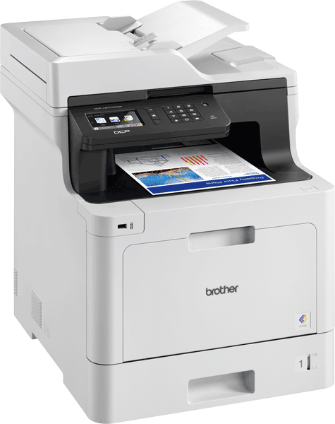 DCP-L8410CDW Wireless Colour Laser Printer 3