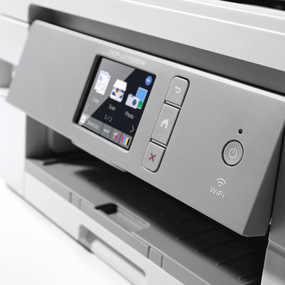 DCP-J1100DW All in Box Wireless 3-in-1 inkjet printer 5