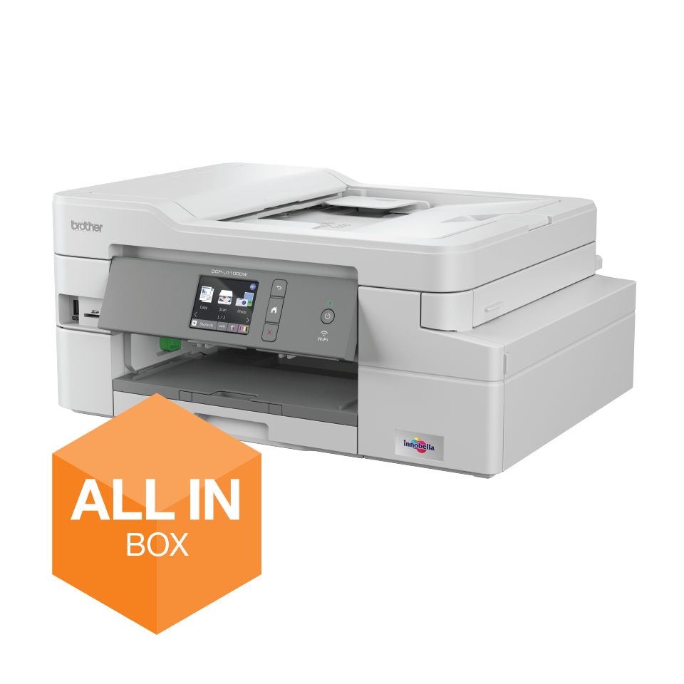 DCP-J1100DW All in Box Wireless 3-in-1 inkjet printer
