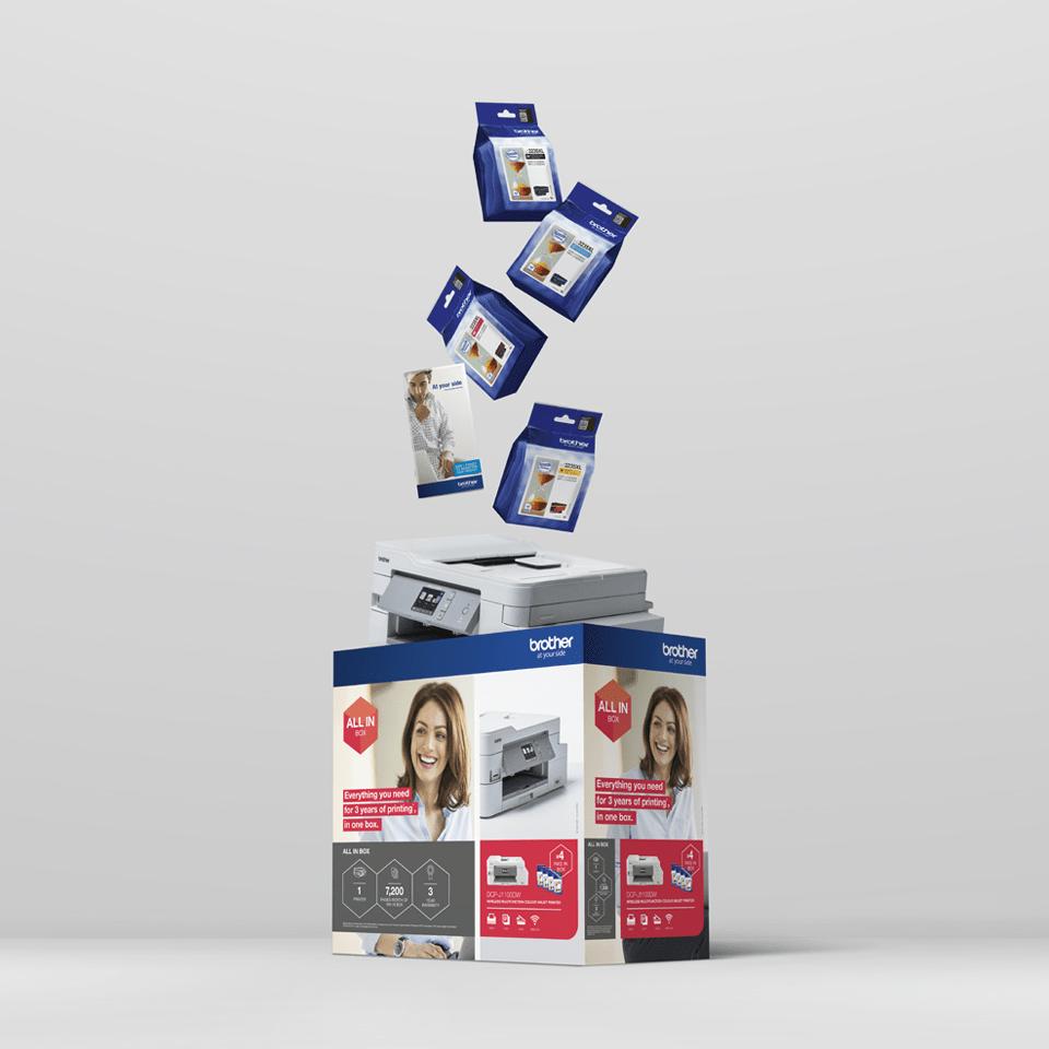 DCP-J1100DW All in Box Wireless 3-in-1 inkjet printer 7
