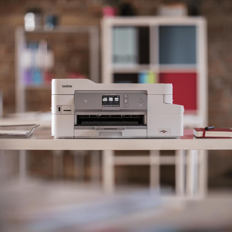 DCP-J1100DW All in Box Wireless 3-in-1 inkjet printer 8
