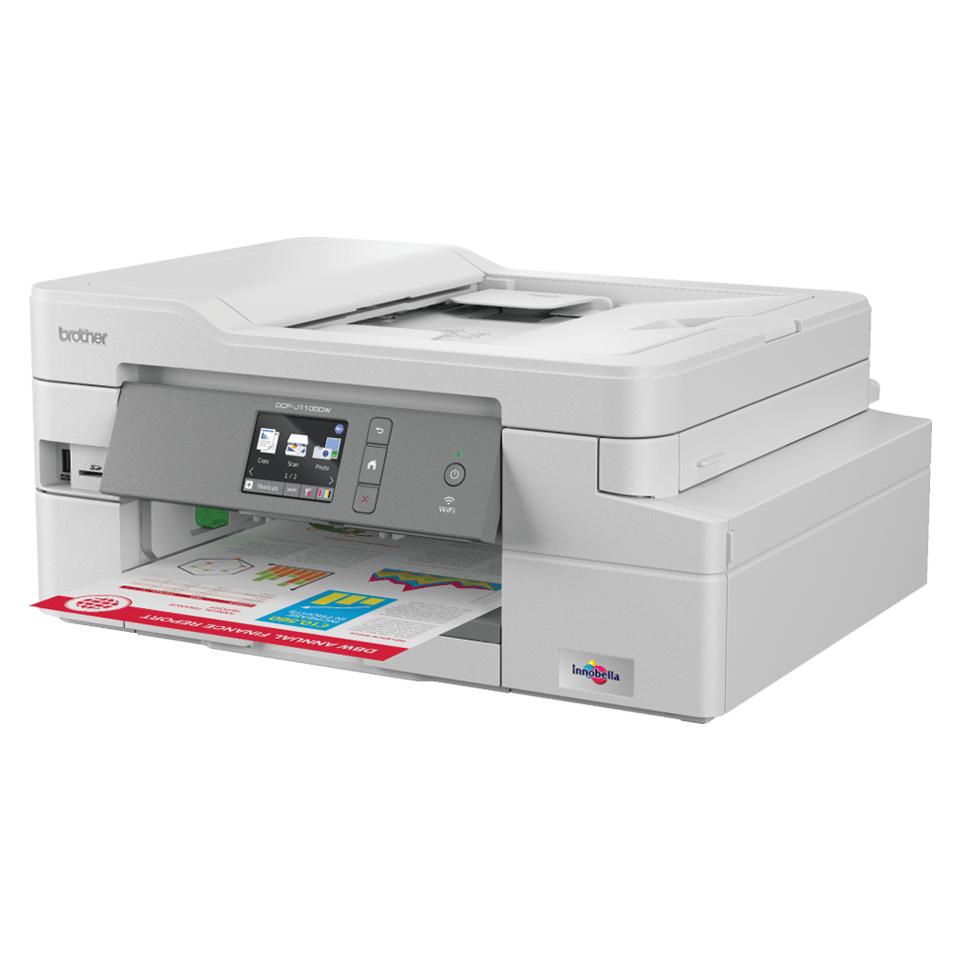 DCP-J1100DW All in Box Wireless 3-in-1 inkjet printer 2