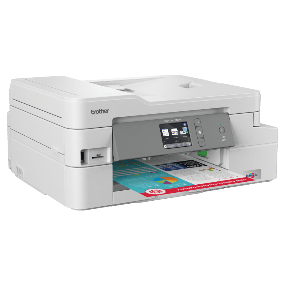 DCP-J1100DW All in Box Wireless 3-in-1 inkjet printer 3