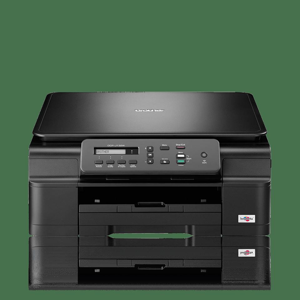 DCP-J132W All-in-One Inkjet Printer + Wireless