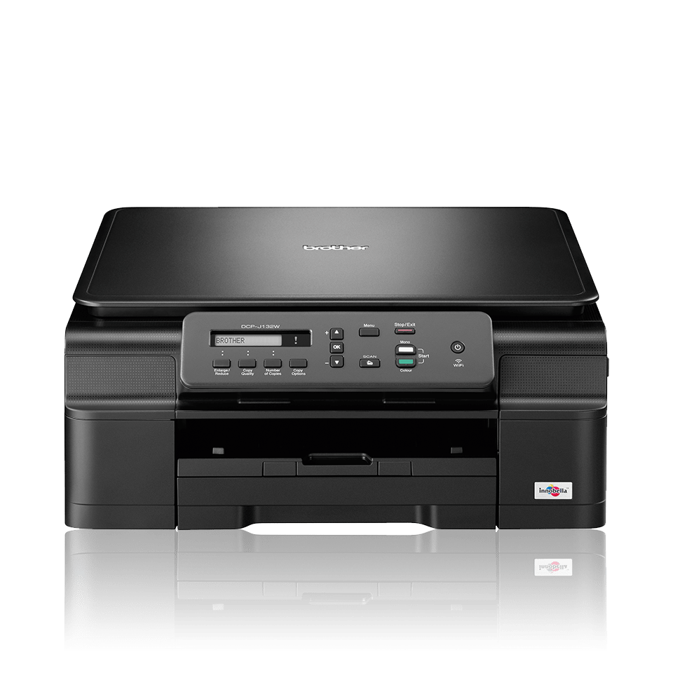 DCP-J132W All-in-One Inkjet Printer + Wireless 0