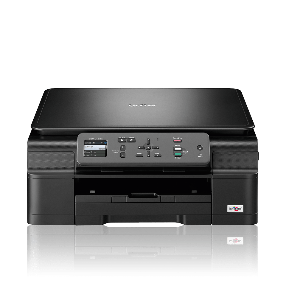 DCP-J152W All-in-One Inkjet Printer + Wireless 0