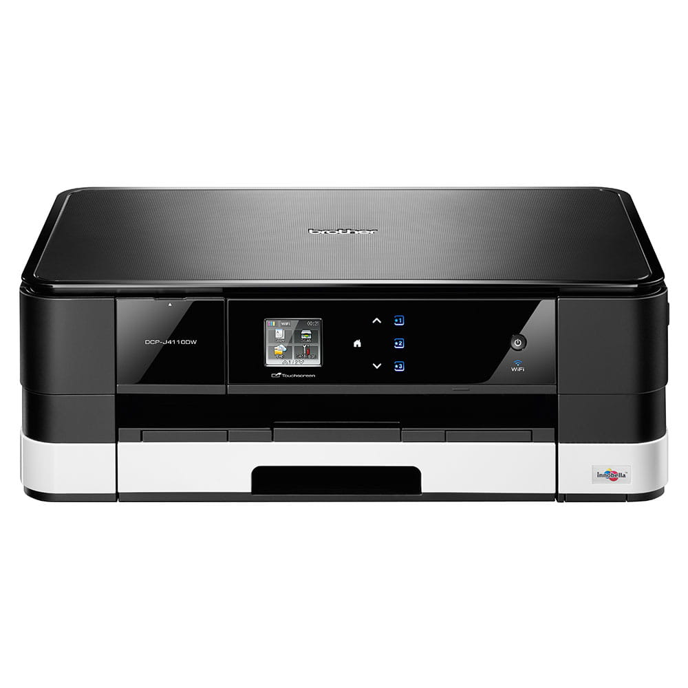 DCP-J4110DW All-in-One Inkjet Printer + Duplex and Wireless 4