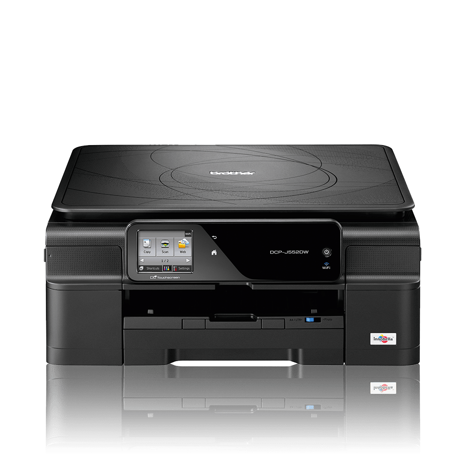 DCP-J552DW All-in-One Inkjet Printer + Duplex and Wireless
