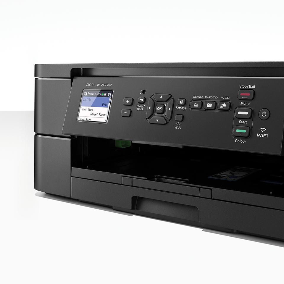 DCP-J572DW Wireless 3-in-1 Inkjet Printer  6