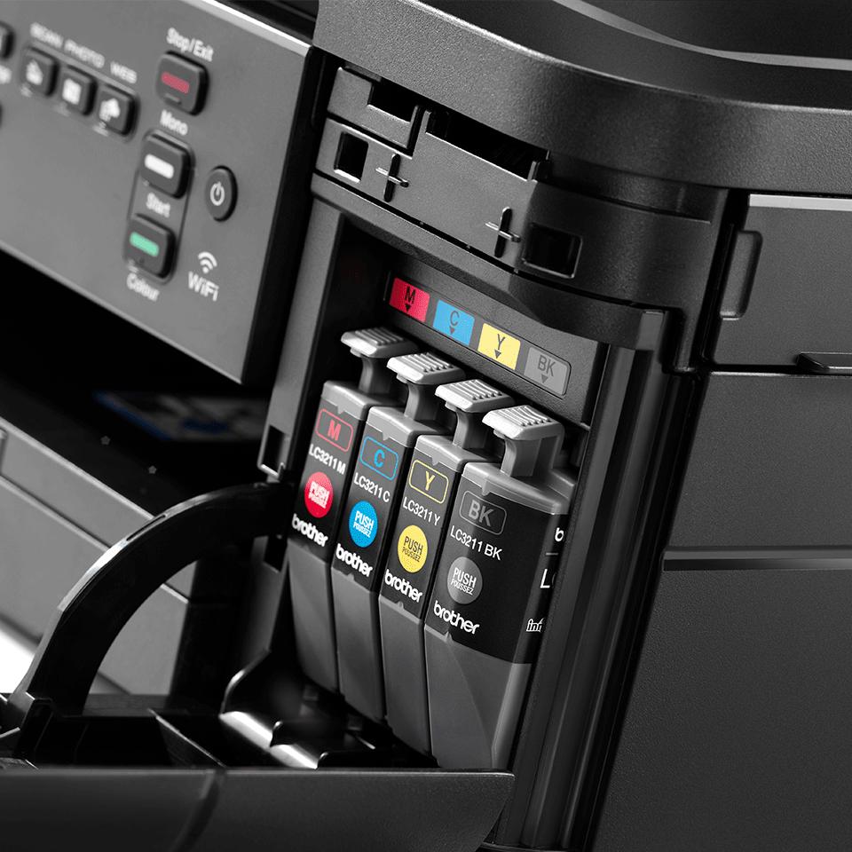 DCP-J572DW Wireless 3-in-1 Inkjet Printer  7