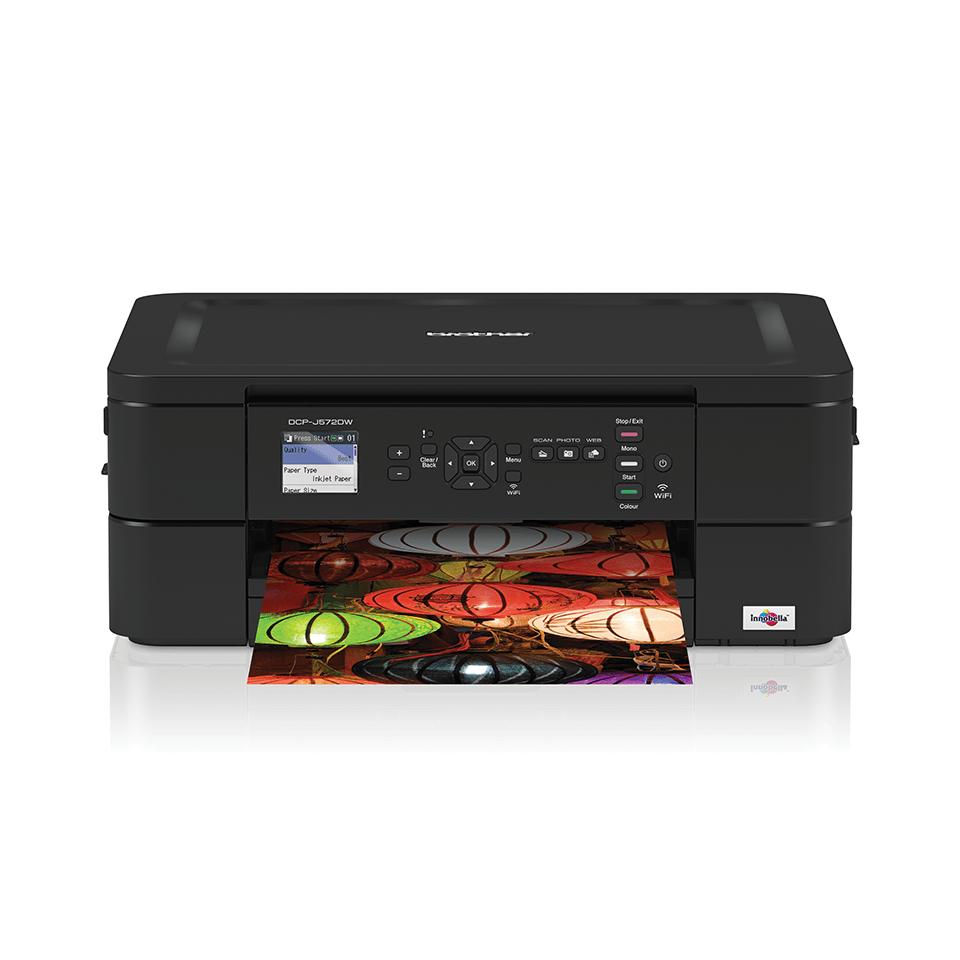 Wireless 3-in-1 Inkjet Printer DCP-J572DW 7