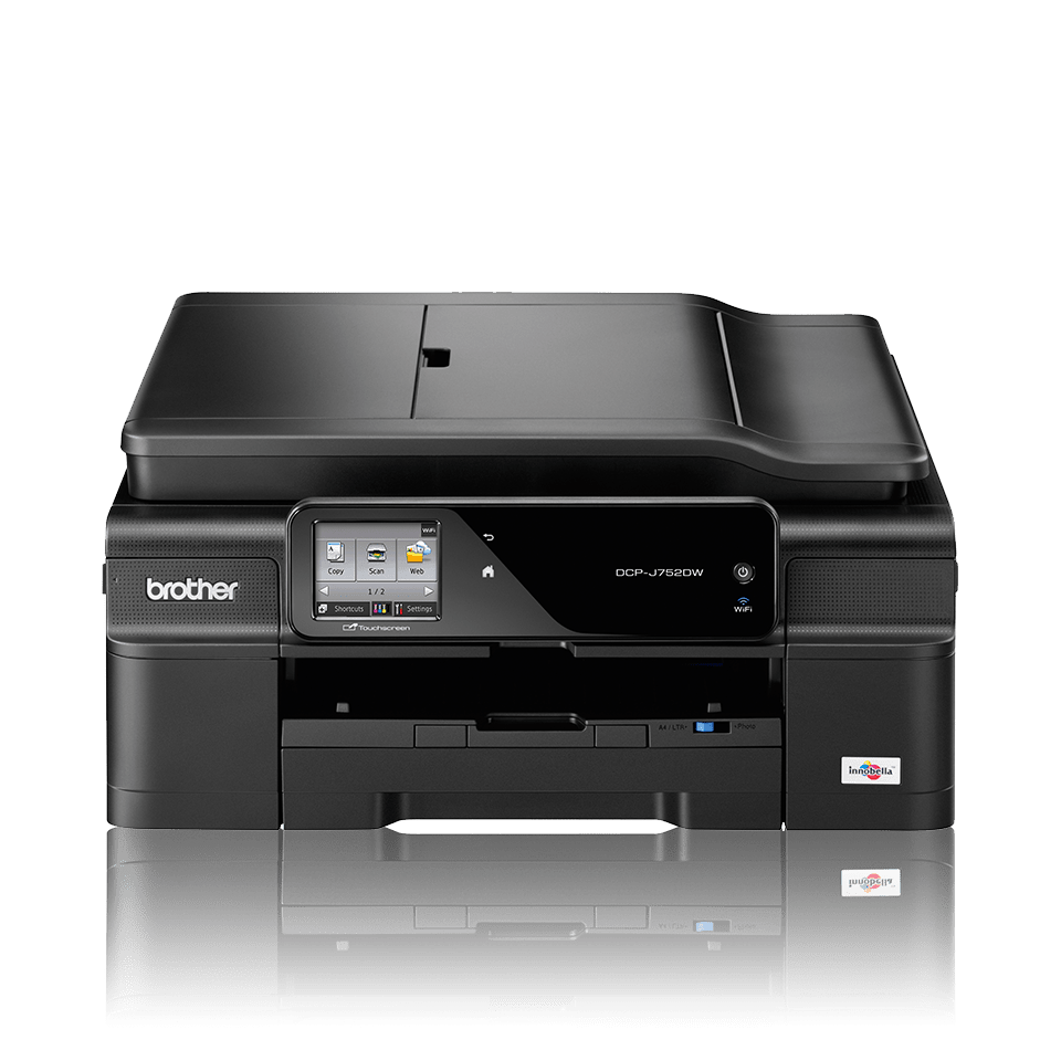 DCP-J752DW All-in-One Inkjet Printer + Duplex and Wireless 3