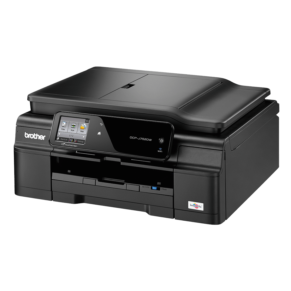 DCP-J752DW All-in-One Inkjet Printer + Duplex and Wireless