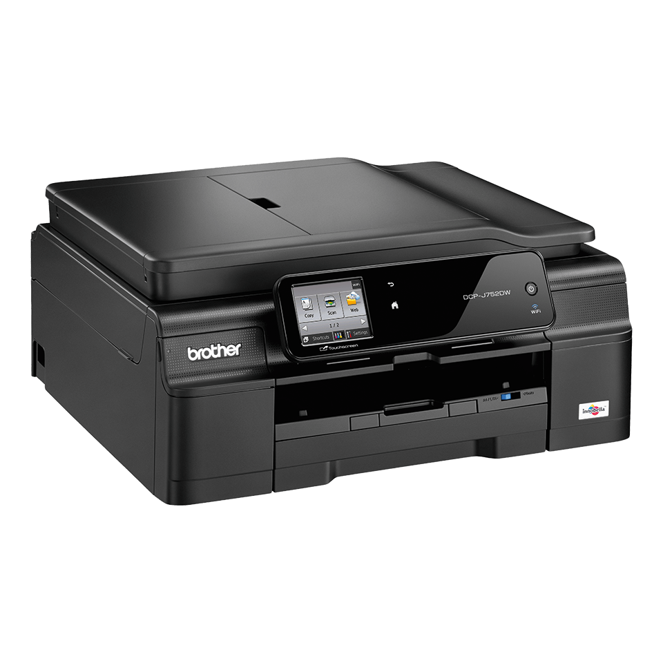 DCP-J752DW All-in-One Inkjet Printer + Duplex and Wireless 2