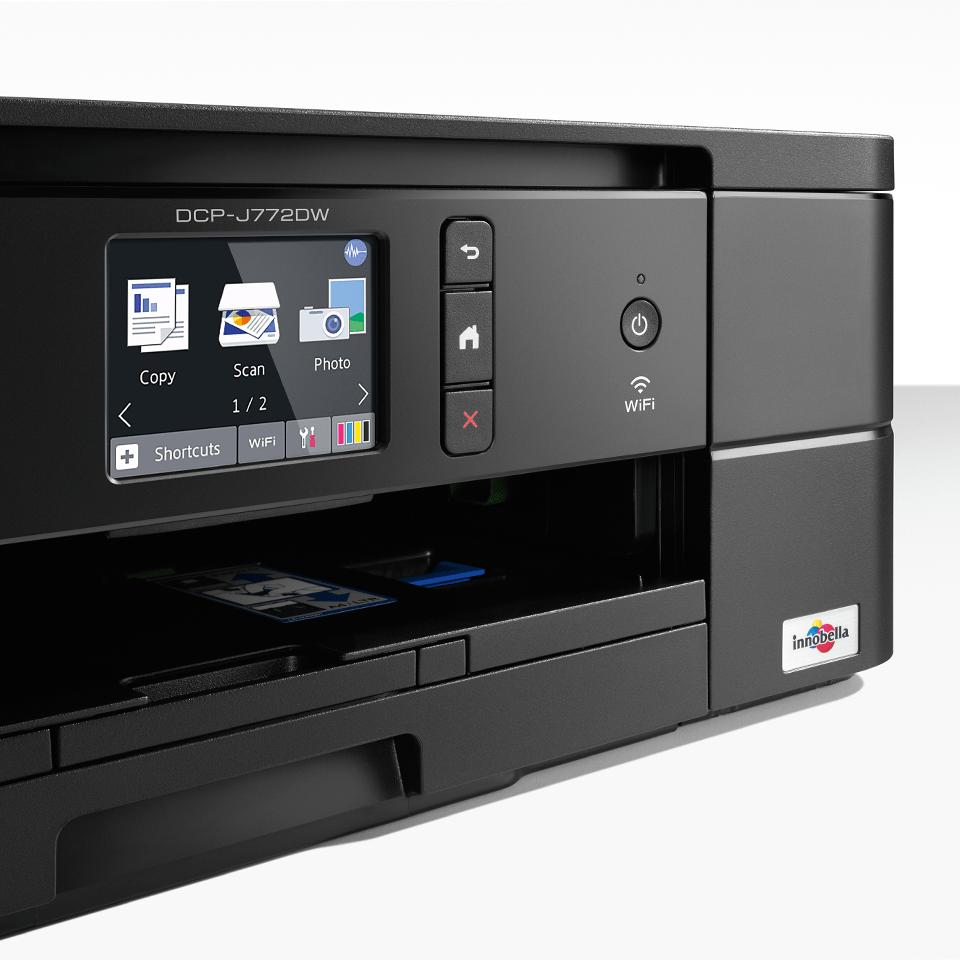 DCP-J772DW Wireless 3-in-1 Inkjet Printer 4