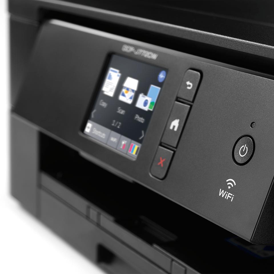 DCP-J772DW Wireless 3-in-1 Inkjet Printer 6