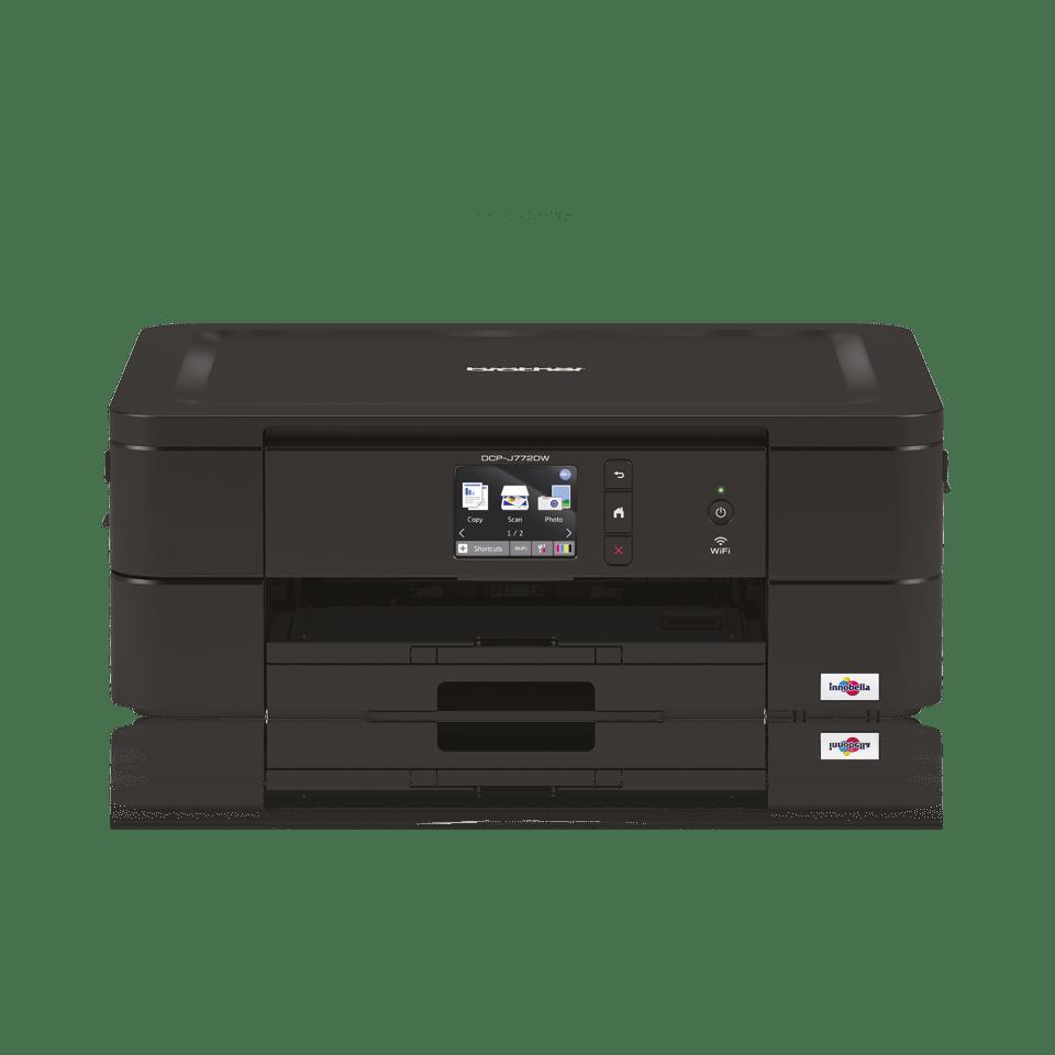 DCP-J772DW Wireless 3-in-1 Inkjet Printer