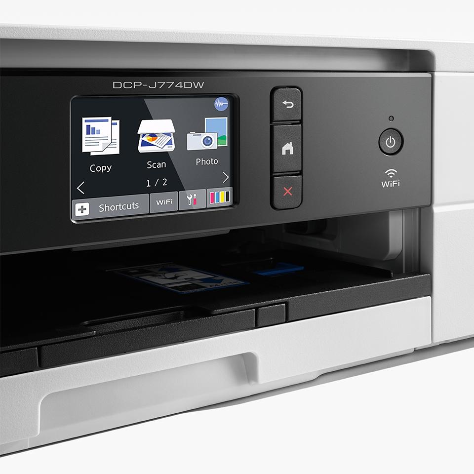 DCP-J774DW Wireless 3-in-1 Inkjet Printer 4
