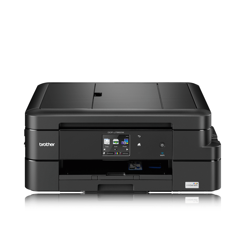 DCP-J785DW Wireless Compact Inkjet Printer