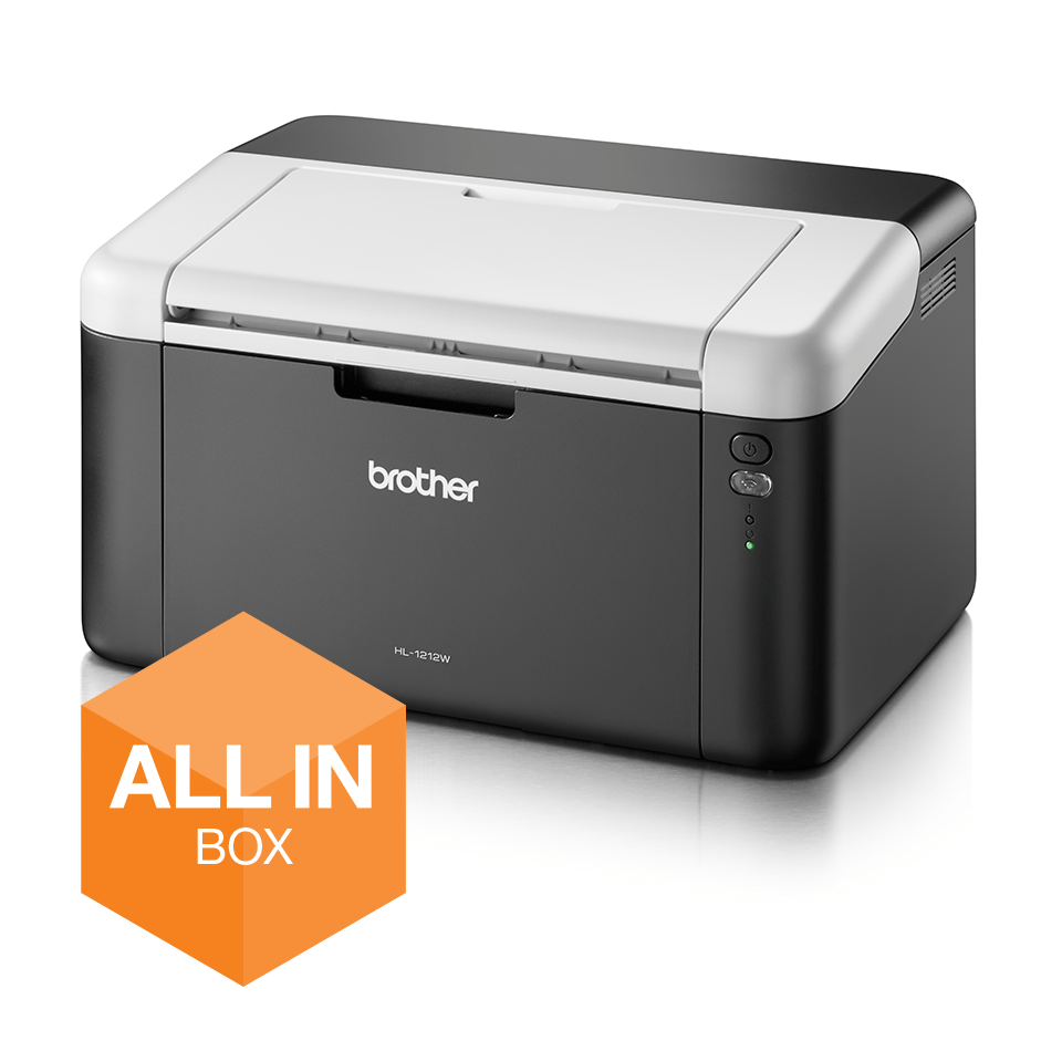 HL-1212W All in Box - Wireless mono laser printer