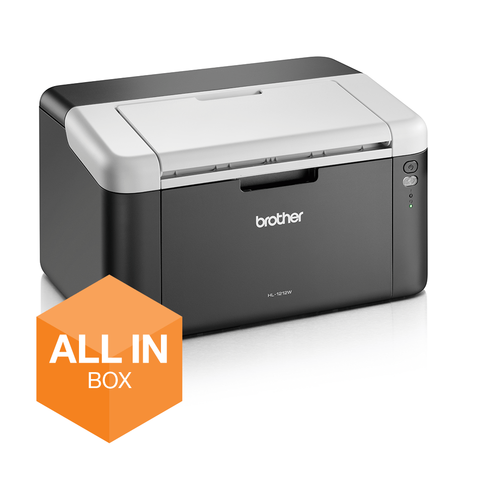 HL-1212W All in Box - Wireless mono laser printer 2