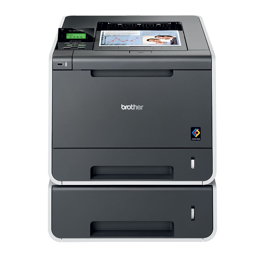 HL-4570CDW High Speed Colour Laser Printer + Network  4