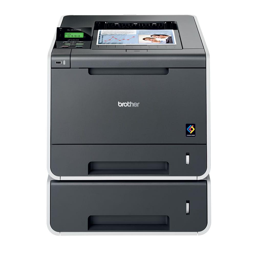 HL-4570CDW High Speed Colour Laser Printer + Network  8